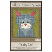 Tabby Cat Precut Fused Appliqué Pack