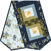English Countryside Log Cabin Table Runner POD™ Kit