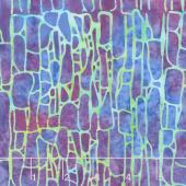 Jewel Box Batiks - Stone Dot Mixed Berry Yardage