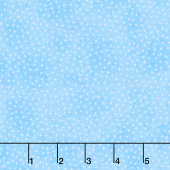 Comfy Flannel® - White Dot Light Blue Yardage