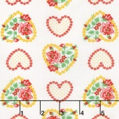 Love & Friendship - Roseheart Cloud Yardage