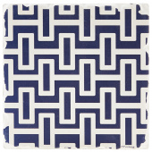 Indigo Patterns Coaster - Geometric