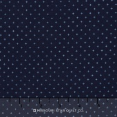 Cotton + Steel Basics - Add it Up Add It Up Indigo Yardage