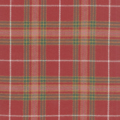 Primo Plaids - Lumber Jacks Large Plaid Red Flannel Yardage