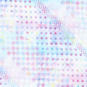 Starlight & Splendor - Sparkle Spot Opaline Digitally Printed Yardage