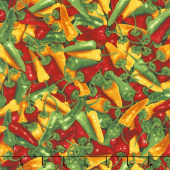 Southwest - Chili Peppers Peppers Yardage