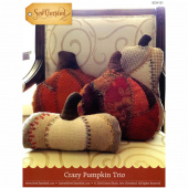 Crazy Pumpkin Trio Pattern