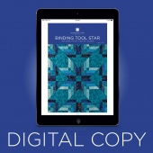 Digital Download - Binding Tool Star Quilt Pattern by Missouri Star