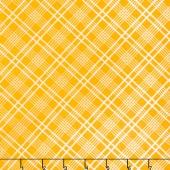 Gingham Girls - Gingham Plaid Yellow Yardage