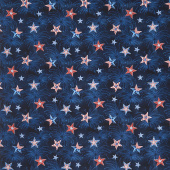 Liberty Lane - Star Sky Navy Yardage