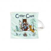Cuddle Prints - Critter Count Book Honeydew Digitally Printed Panel