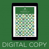 Digital Download - Mountain Lily Quilt Pattern by Missouri Star