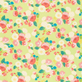 Midsummer Meadow - Wild Bouquet Pear Yardage