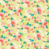Midsummer Meadow - Wild Bouquet Pear Yardage