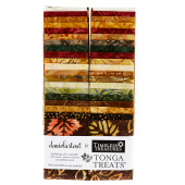"Tonga Treats Batiks - Nutmeg 2.5"" Strips"
