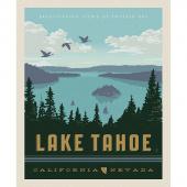 Destinations - Lake Tahoe Poster Multi Digitally Printed Panel