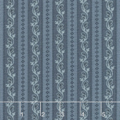 Regency Sussex - Loxhill Circa 1800 Hague Blue Yardage