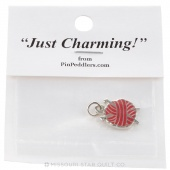 Yarn and Knitting Needles Charm