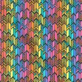 Art Theory - Rainbow Feather Night Yardage
