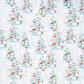 A Magical Christmas - Trees Allover White Yardage