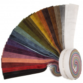 "Woolies Color Wash Flannel 2.5"" Strips"