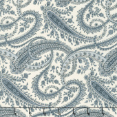 Holly Woods - Paisley Snow Sky Yardage