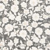 Bloomington - Flower Shop Charcoal Yardage
