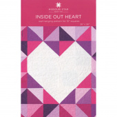 Inside Out Heart Wall Hanging Pattern by Missouri Star