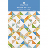 Happy Hearts Quilt Pattern by Missouri Star