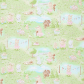 Friendship Blossoms - Bunny in the Meadow Multi Yardage