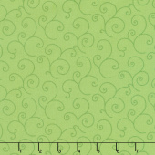 "Kimberbell - Scroll Green 108"" Wide Backing"