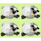 Lewe the Ewe - Sheep Green Panel