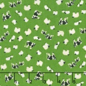 Lancaster - Cows & Sheep Green Yardage