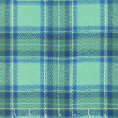 Primo Plaid - Green/Blue Plaid Flannel Yardage