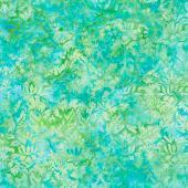 Lemon Grass Batiks - Morris Foulard Chameleon Yardage
