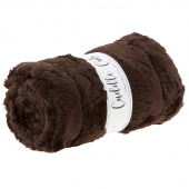 "Cuddle® Cuts - Luxe Hide Chocolate 60"" Minky 2 Yard Cuts"