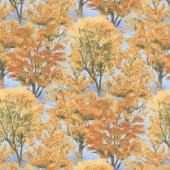 Autumn Grove - Grove Blue Yardage