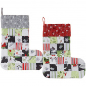 Missouri Star Winter Gnomes Patchwork Stocking Kit