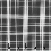 Gingham Farm - Plaid Black Yardage