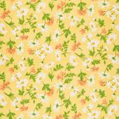 Fresh as a Daisy - Daisies & Berries Sunshine Yardage