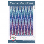 Ombre Mountains Quilt Pattern