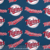 MLB Major League Baseball - Minnesota Twins Allover Yardage