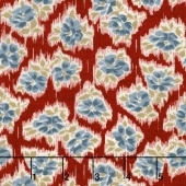 Faded Memories - Faded Toss Red Yardage