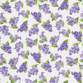 Elizabeth - Flowers Natural Yardage