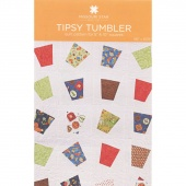 Tipsy Tumbler Quilt Pattern by Missouri Star