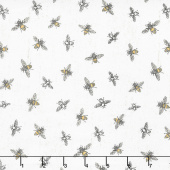Bee's Life - Bees Parchment Yardage
