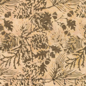 Oh Deer Batiks - Pine Leaf Blush Yardage