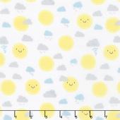 Little Sunshine - Sunshine White Yardage
