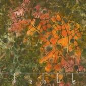 Artisan Batiks - Cornucopia 8 Mosaic Texture Nature Yardage