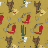Cowboy Country - Gear Tan Yardage